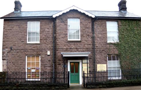 An image of the front of Abergavenny Complementary Practice